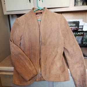 Vintage ladies authentic suede jacket